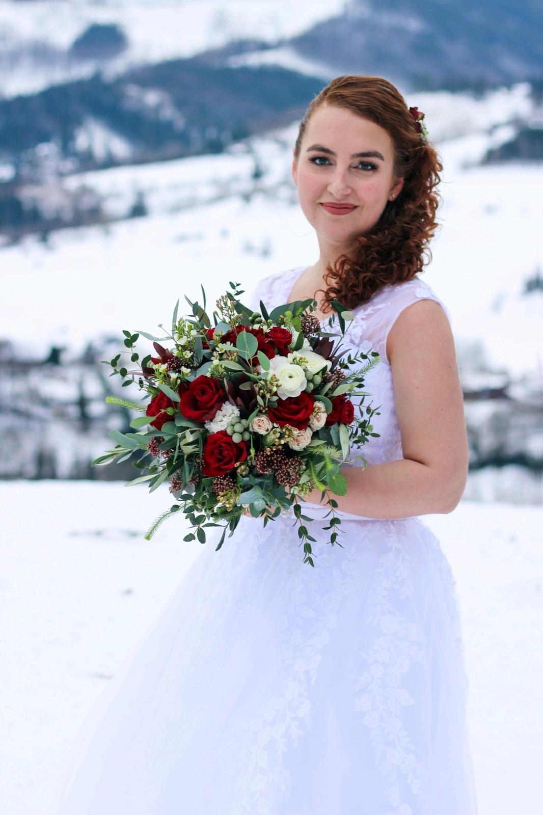Svatební šaty vel. 40-42 - Obrázek č. 1