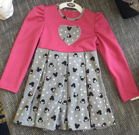 Detské šatičky v ružovom i sivom - Obrázok č. 1