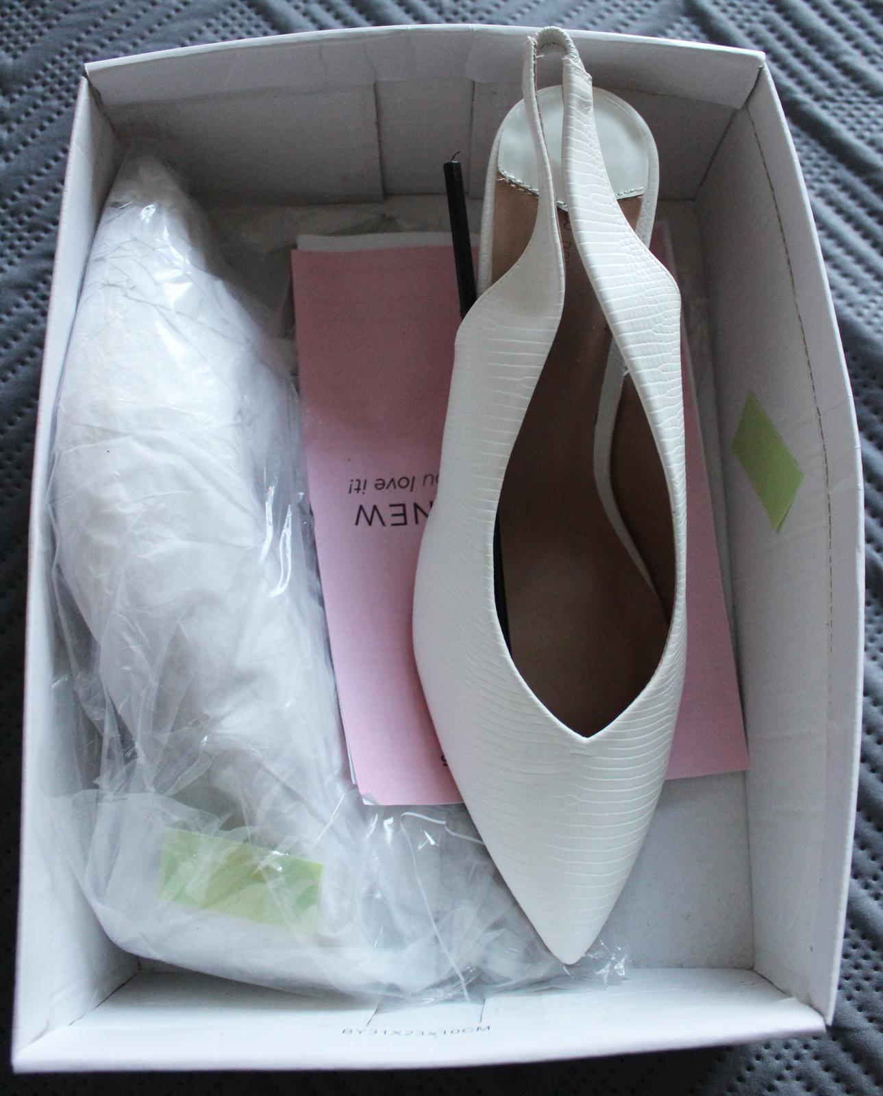 Svadobné topánky veľkosť 41-42 - Obrázok č. 1