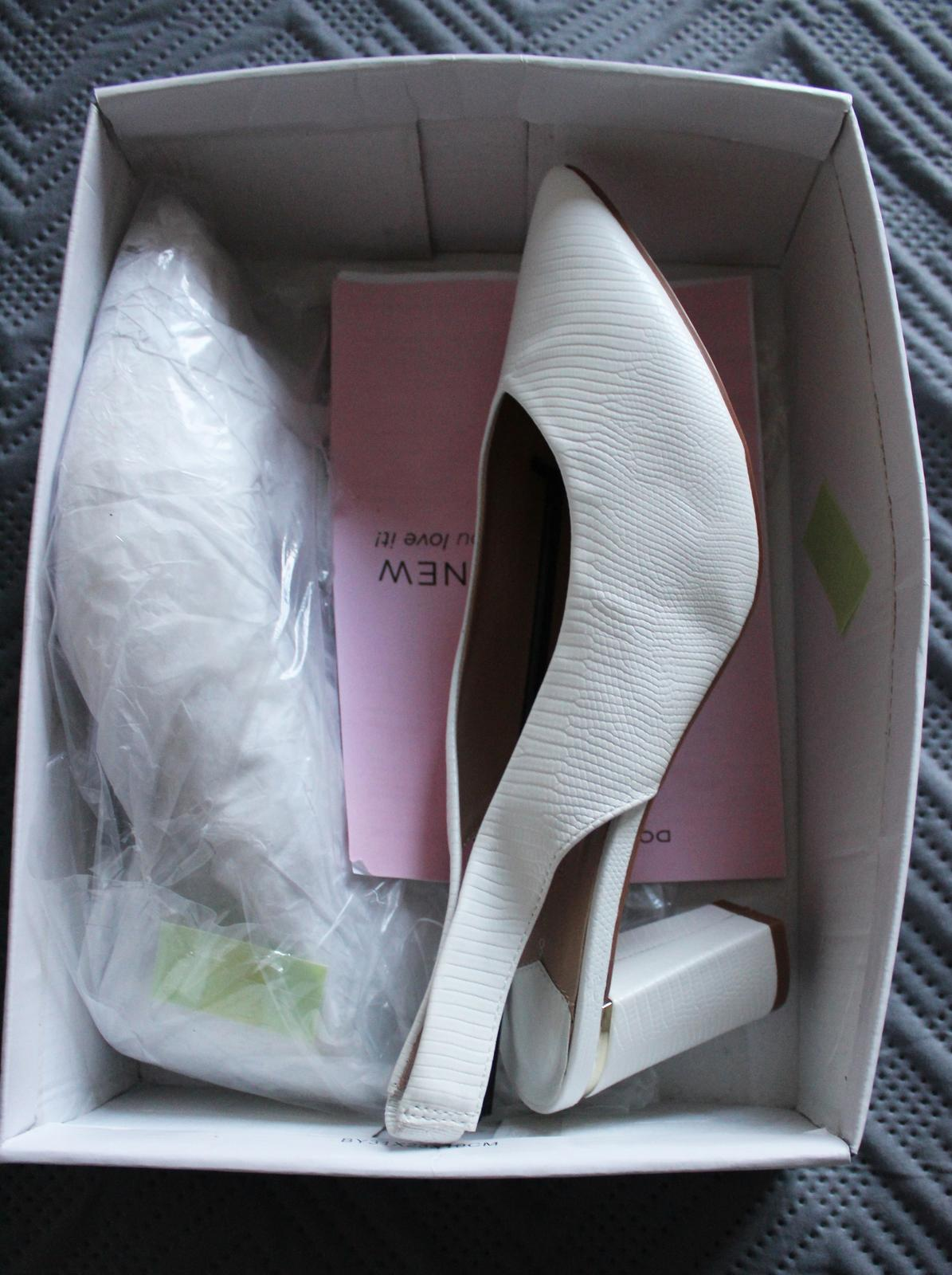 Svadobné topánky veľkosť 41-42 - Obrázok č. 2