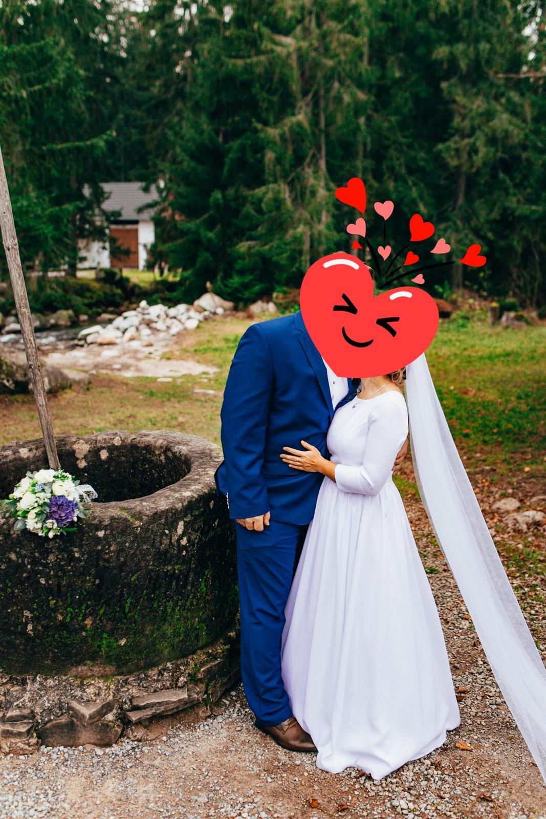 Krásne svadobne šaty - Obrázok č. 2