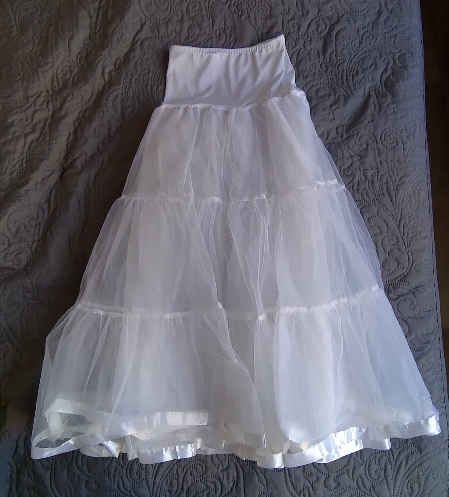 Spodnička dlouhá bílá - Obrázek č. 1
