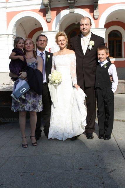 Silvia{{_AND_}}Igor - s mojim bratom Michalom,švagrinkou Zuzkou, Maťkom a Luckou