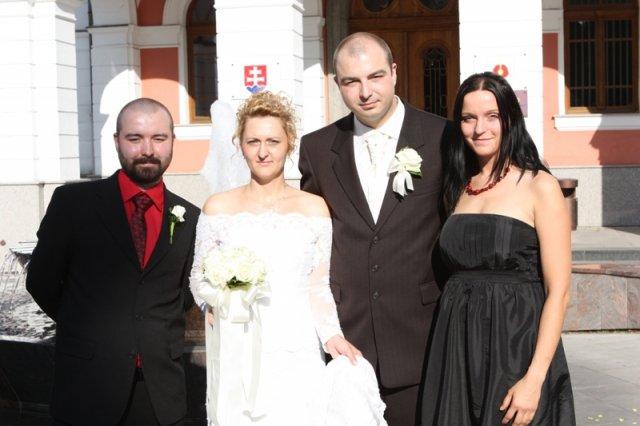Silvia{{_AND_}}Igor - s manželovým bratom Jurkom a Dankou