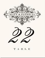 a oznacenie stolov