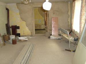 už máme betony v budoucím obýváku