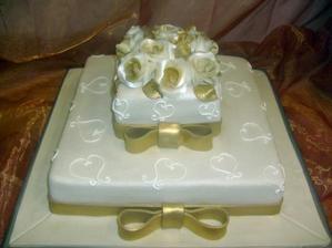 A takto nejako by mala vyzerať hlavná torta.