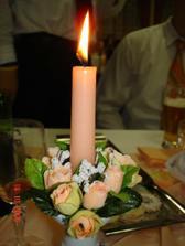 ..sviečočka horí