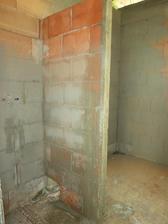 Nová příčka v koupeně na sprcháč