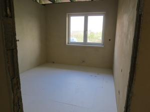 7.10.2012 - pokojíčky připraveny na vylití podlah