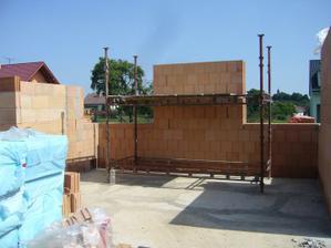 21.8.2011 -Budoucí kuchyň s jídelnou