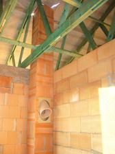 25.6.2011 - Heluz-montáž komína