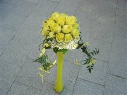 Kytka žlutých růží