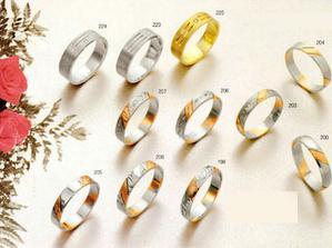 Ukázka prstenů