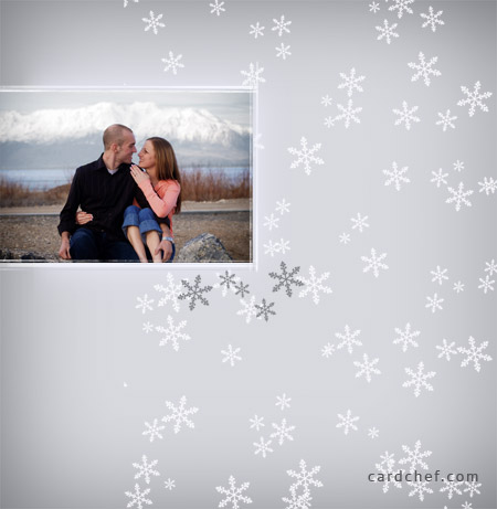 Oznamka - zimna svadba