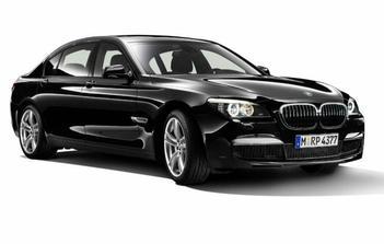nevěsty autíčko BMW řada 7
