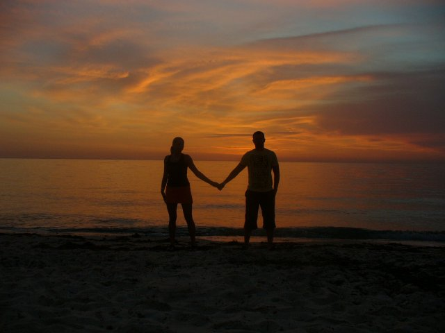 Janka a Palko - Tunisko vychod slnka