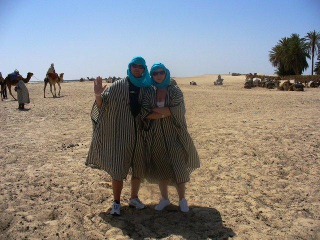 Janka a Palko - spolu na Sahare :o)