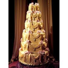 malá svatba - malý dort