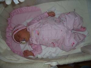 a tohle je naše štěstíčko, které jsme spodili asi měsíc po svatbě a 21.3.2008 se nám narodila krásná, zdravá holčička Brambůrka (Barborka)