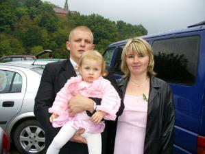 můj bráška s rodinou