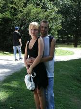 My dva - 19.8.2006 - svatba kamarádky - zámek Březnice