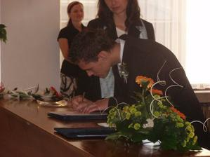 podpis svědka nevěsty