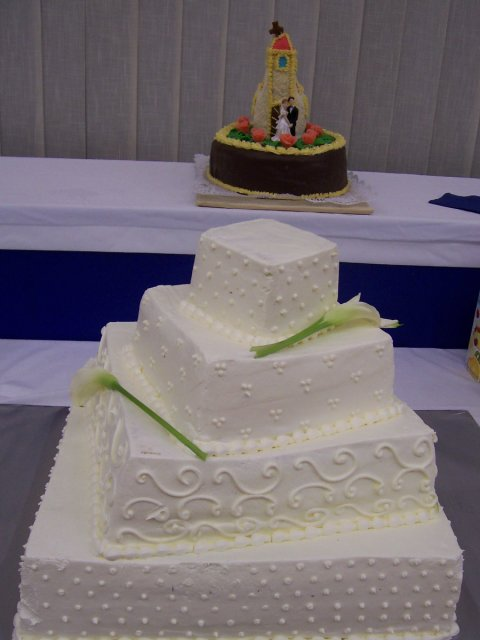 PaZu - svadobna torta, Danela
