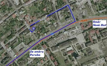 Malá mapka, kde že to přestě v těch Vítkovicích je :-)