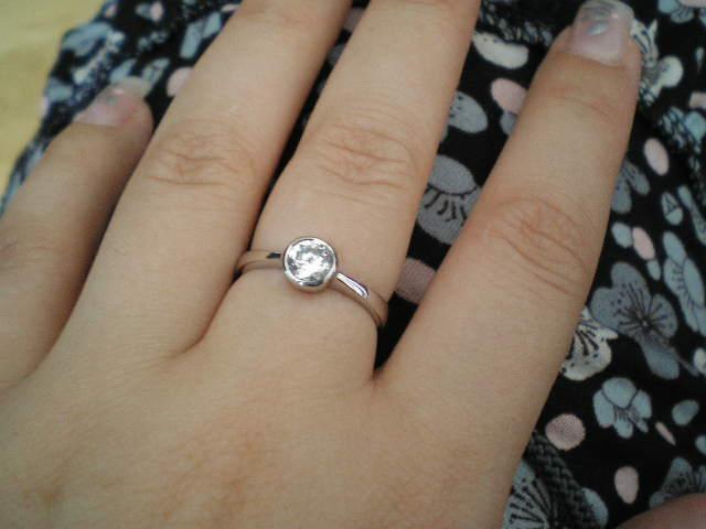 Nasa svadba - moj zasnubny z bieleho zlata