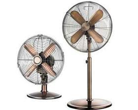 v parném horku by se takový retro ventilátor hodil