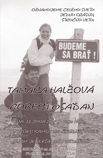 Tami&Robi - toto je naše oznamko