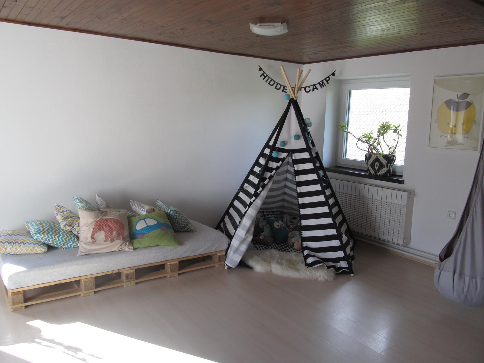 Naše bydlení - Škatulata v dětském ráji :-)