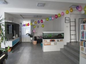 Když oslava, tak hlavně hodně balónků :-)