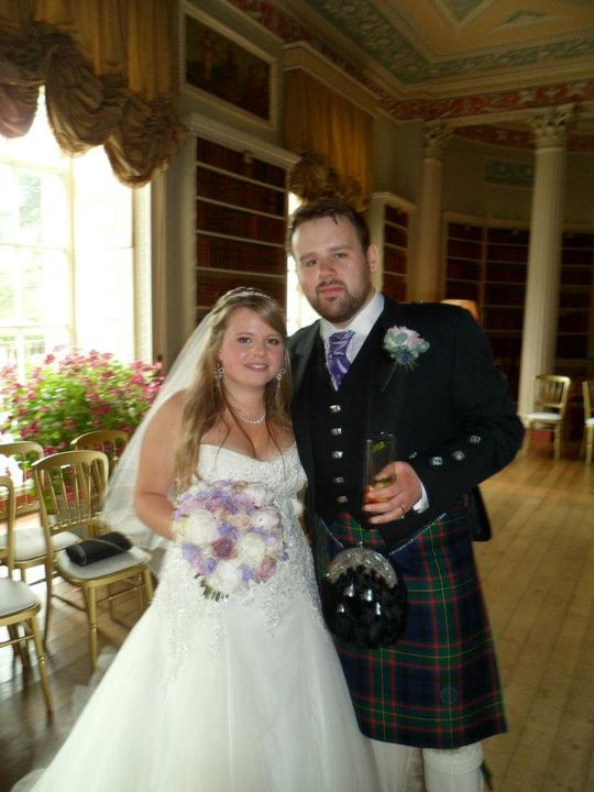 Sophie Hall{{_AND_}}Stuart Gillies - Me and my HUSBAND!!!!