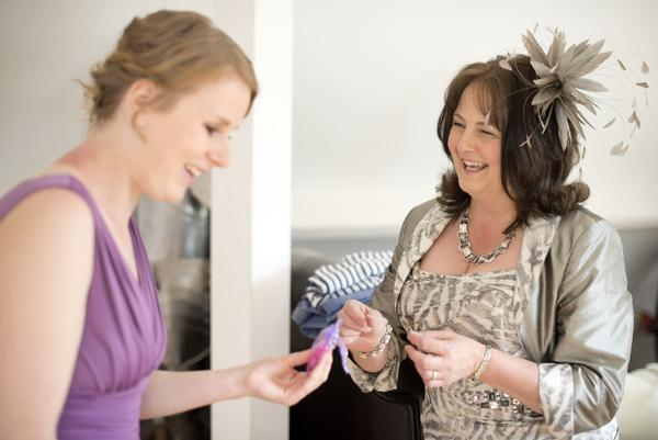 Sophie Hall{{_AND_}}Stuart Gillies - Bridesmaid and mother of the bride :)