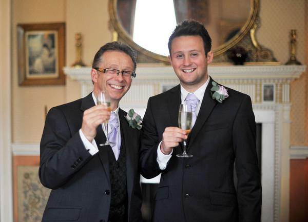 Sophie Hall{{_AND_}}Stuart Gillies - My dad and my brother looking very smart!