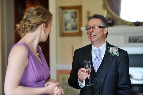 Sophie Hall{{_AND_}}Stuart Gillies - My dad and my bridesmaid Kirsty