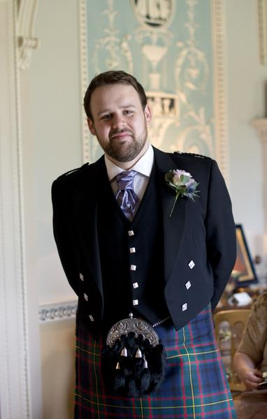 Sophie Hall{{_AND_}}Stuart Gillies - My handsome groom!