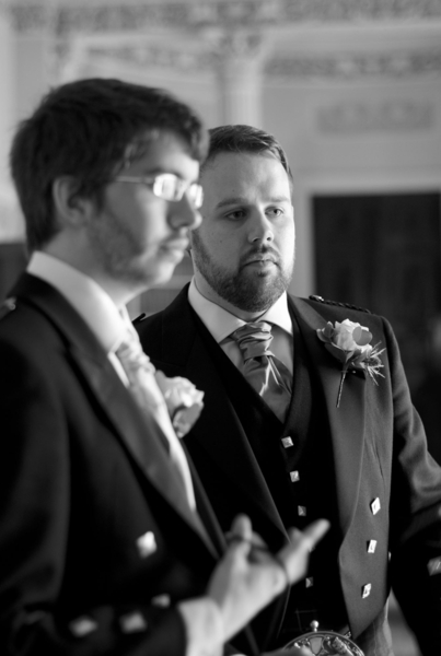Sophie Hall{{_AND_}}Stuart Gillies - Best man and Groom