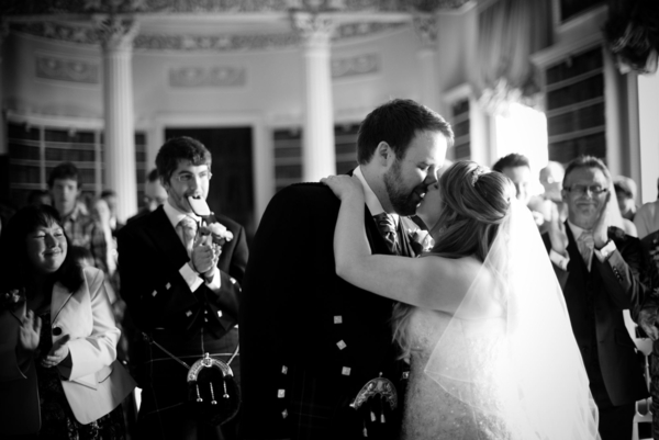 Sophie Hall{{_AND_}}Stuart Gillies - You may kiss the bride!
