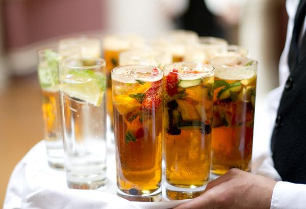 Sophie Hall{{_AND_}}Stuart Gillies - Pimms, yum!