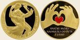 pamätné mince pravé zlato