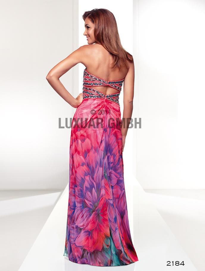 Luxusné spoločenské šaty  vo Svadobnom centre Valentíny - Obrázok č. 1