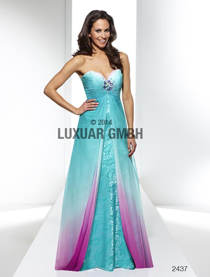 Luxusné spoločenské šaty  vo Svadobnom centre Valentíny - Obrázok č. 12