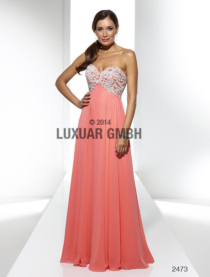 Luxusné spoločenské šaty  vo Svadobnom centre Valentíny - Obrázok č. 15