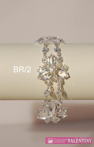 Luxusná svadobná krištáľová byžutéria - Obrázok č. 2