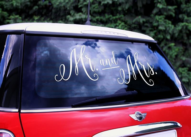 Nevestičky čo poviete na niečo milé na Vaše autíčko - Obrázok č. 3