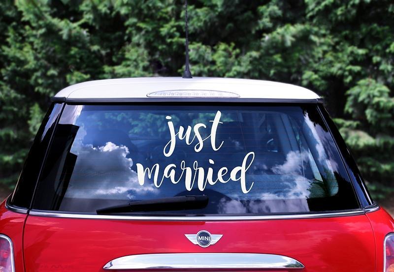 Nevestičky čo poviete na niečo milé na Vaše autíčko - Obrázok č. 5