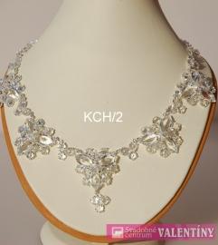 Luxusný náhrdelník krištáľový  - Obrázok č. 1